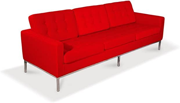 Amazon.com: UrbanFurnishing.net Florence Knoll Style Sofa .