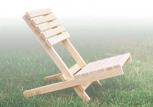Folding Chair | Pallet furniture outdoor, Outdoor furniture plans .