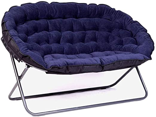 Amazon.com: European Lazy Sofa Double Fabric Sofa Folding Sofa .