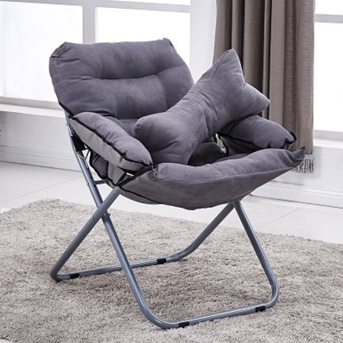 SUNSKY - Creative Lazy Folding Sofa Living Room Single Sofa Chair .