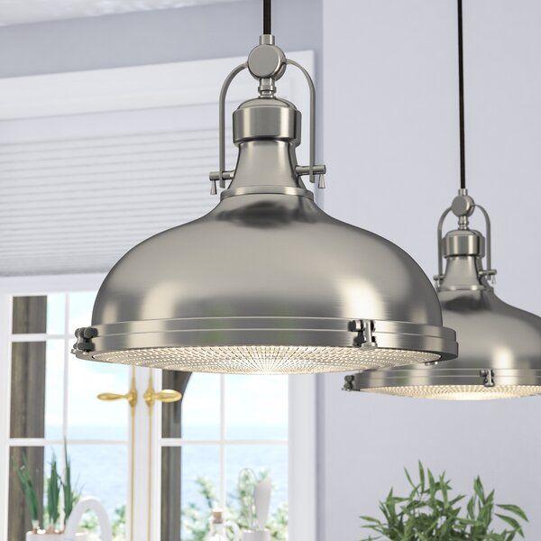 Freeda 1 - Light Single Dome Pendant | Farmhouse pendant lighting .