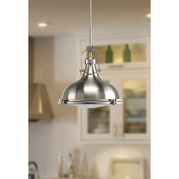 Freeda 1 Light Single Dome Pendants