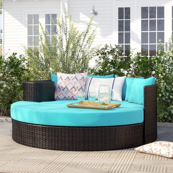Freeport Patio Daybed with Cushion | Patio daybed, Clearance .