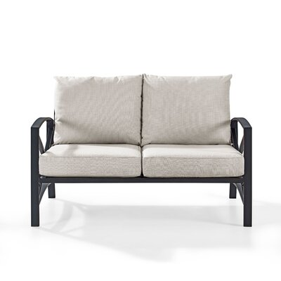 Freitag Loveseat with Cushions & Reviews | Joss & Ma