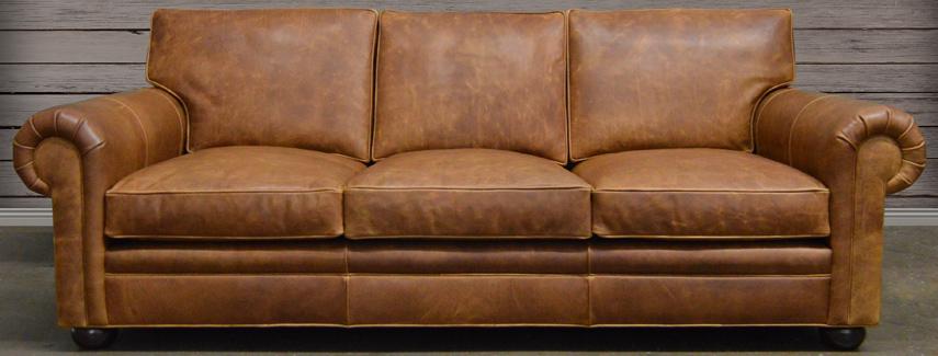 Full Grain Leather Sofas