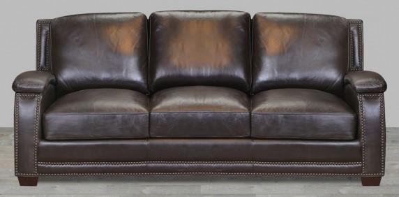 Full Grain Leather Sofas - Sofas - Living Ro