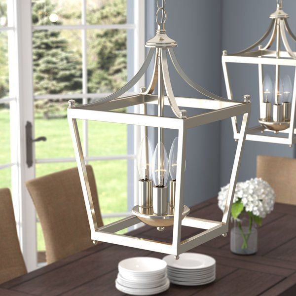 Gabriella 3 - Light Lantern Geometric Pendant | Lantern chandelier .