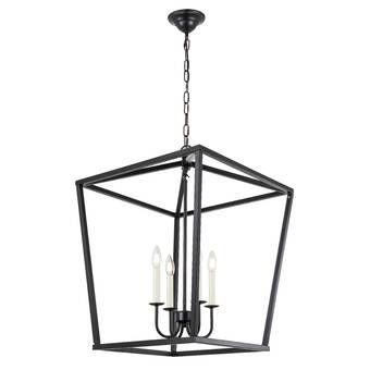Gabriella 3 - Light Lantern Geometric Pendant | Lantern lights .