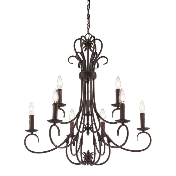 Gaines 9 Light Candle Style Chandeliers