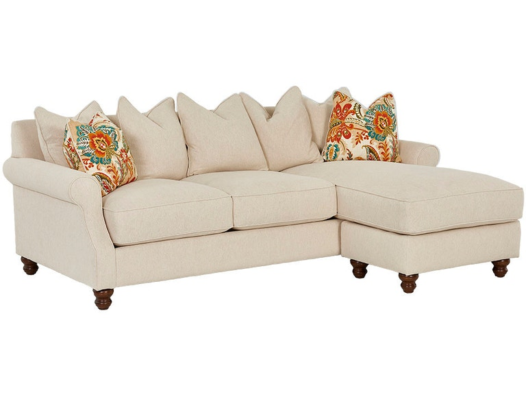 Klaussner Living Room Tifton D26044 Sectional - Furniture Kingdom .
