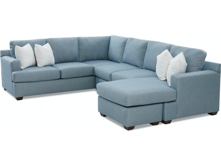 Klaussner Living Room Juniper Sectional K98400 SECT - Furniture .