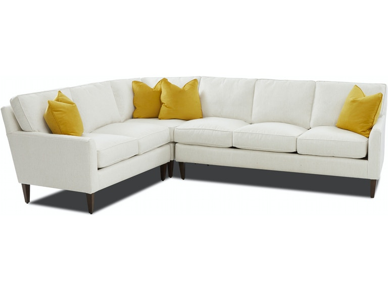 Klaussner Living Room Tribecca Sectional D58000 SECT - Furniture .