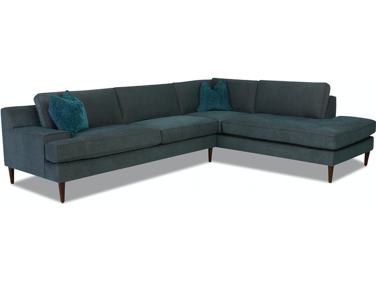 Klaussner Living Room Talon Sectional K47900 SECT - Furniture .