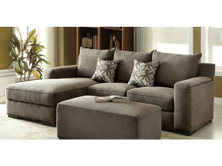 Acme Furniture Living Room Ushury Sectional Sofa 53590 - Gallery .