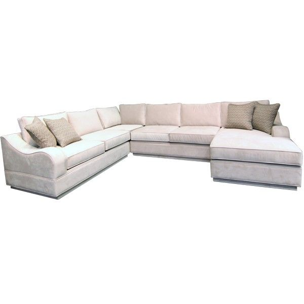 GALLERY FURNITURE CUSTOM CONTEMPORARY SAND SECTIONAL - SOFA .