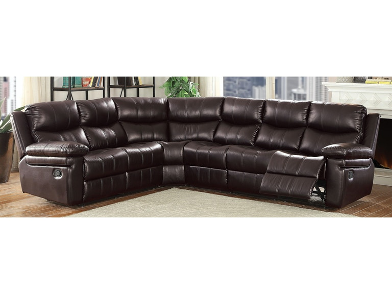 Acme Furniture Living Room Lavinia Sectional Sofa 53955 - Gallery .