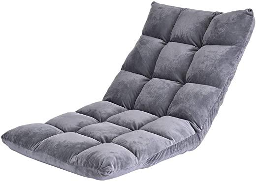 Amazon.com: eiaagi Adjustable Floor Gaming Sofa Chair Cushioned .
