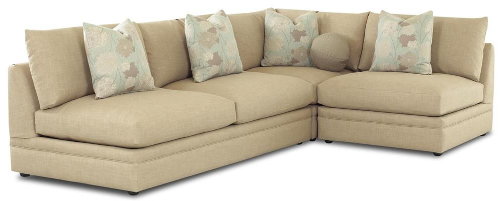 Melrose Place Three Piece Sectional by Klaussner | Sofa store .