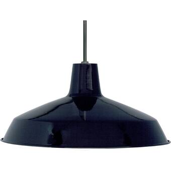 Orren Ellis Gattis 1 - Light Single Dome Pendant & Reviews | Wayfa