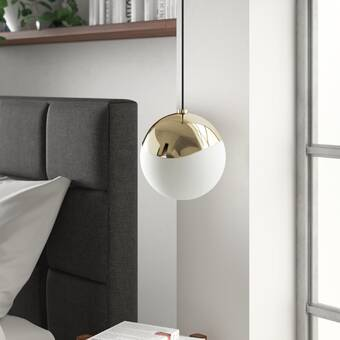 Molena 1-Light Single Globe Pendant & Reviews | AllMode