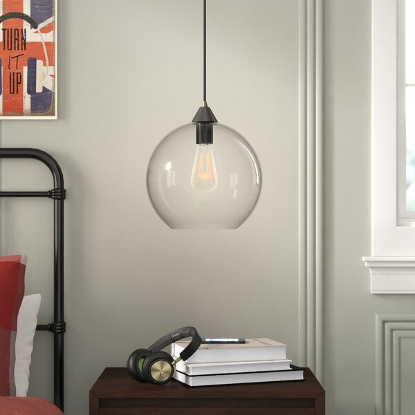 Grovelane Teen Alana 1-Light Single Globe Pendant & Reviews | Wayfa