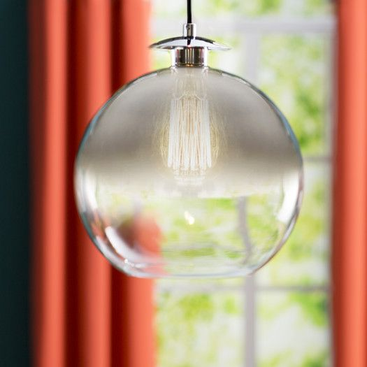 1 - Light Single Globe Pendant | Globe pendant, Pendant lighting .