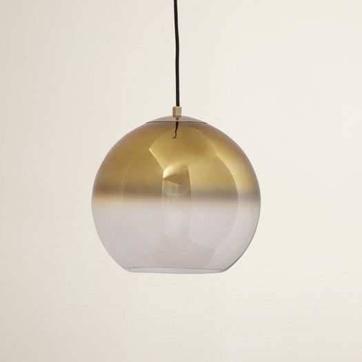 1 - Light Single Globe Pendant (With images) | Modern pendant .