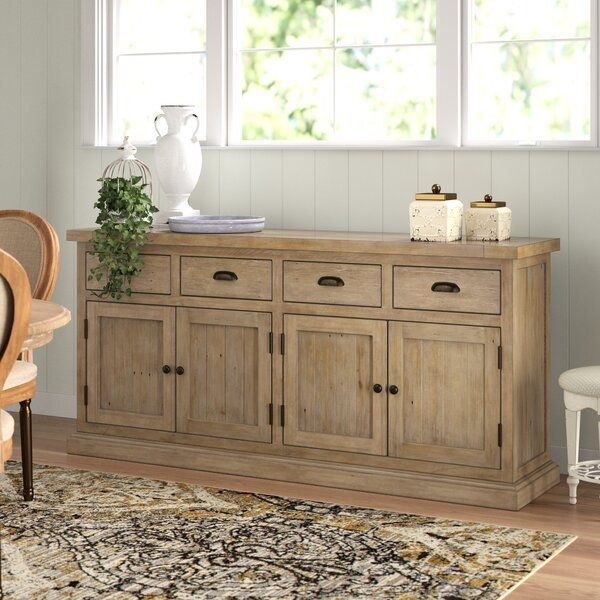 Gertrude Sideboard in 2020 | Solid wood dining table, Dining room .