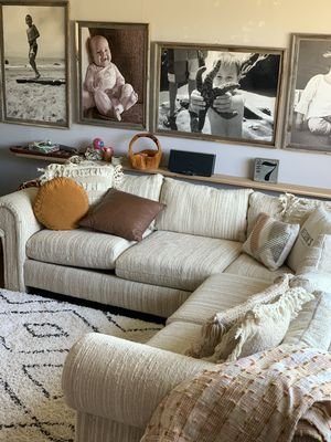 New and Used White sectional for Sale in Gilbert, AZ - Offer
