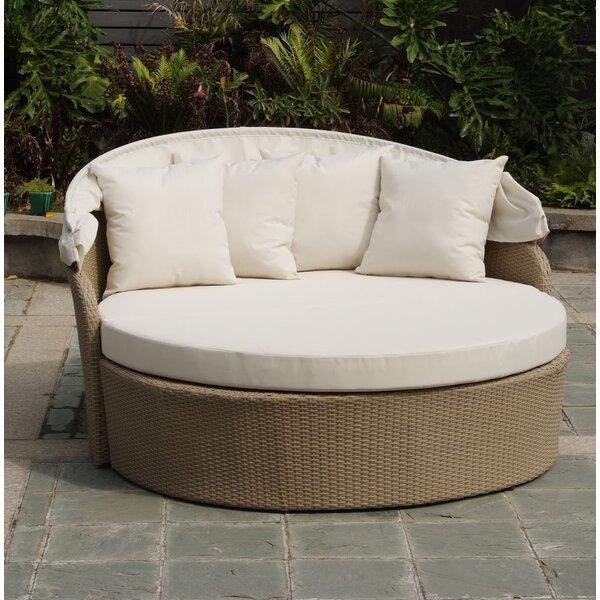Brayden Studio Dunnam Outdoor Patio Daybed with Cushion | Wayfa