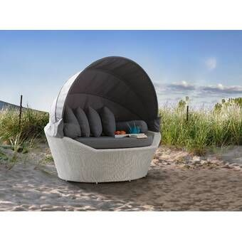 Gilbreath Patio Daybed with Cushions | Patio daybed, Daybed, Patio .