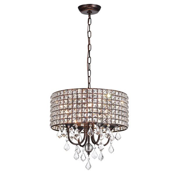Gisselle 4 Light Drum Chandeliers