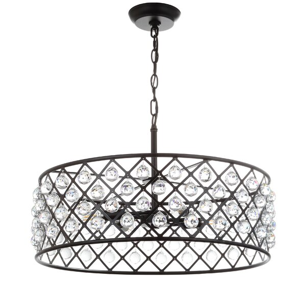 House of Hampton® Chesler 4 - Light Candle Style Drum Chandelier .