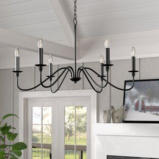 Laurel Foundry Modern Farmhouse Giverny 9-Light Candle Style .