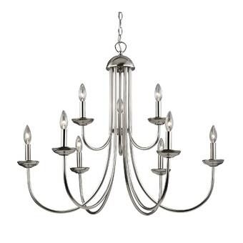 Giverny 9-Light Candle Style Classic / Traditional Chandelier .