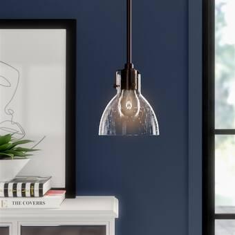 Radnor 1-Light Bell Pendant & Reviews | Joss & Ma