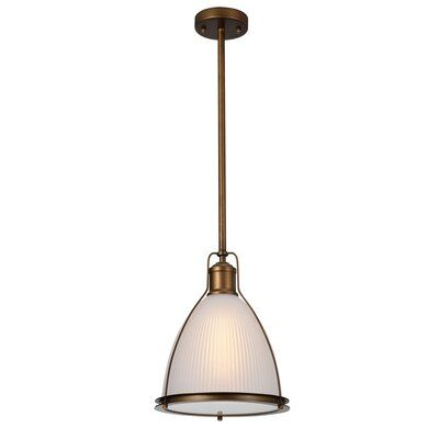 Goldie 1 Light Single Bell Pendants