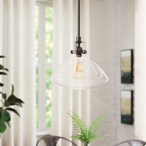 Trent Austin Design Houon 1-Light Single Schoolhouse Pendant .