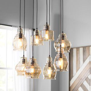 Gracelyn 8 Light Kitchen Island Pendants