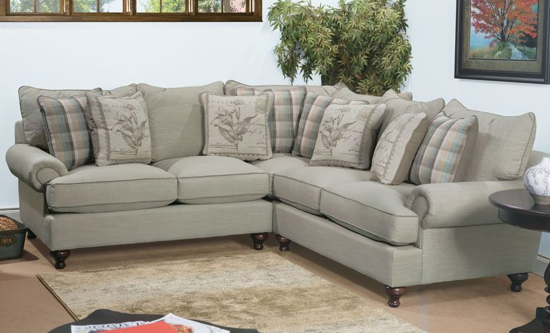 Casual sectional sofa from the Paula Deen Home collection. | Grand .