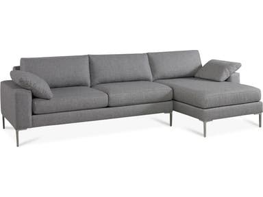Precedent Furniture Alexis Sectional 3312-Sectional | Living room .