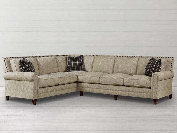 Bassett Furniture Harlan Sectional Sofa is available at Jacobs .