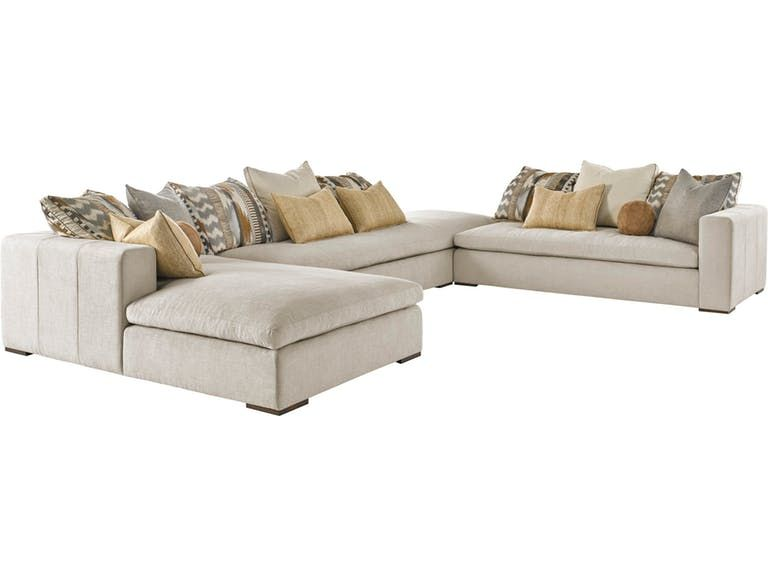 Marge Carson Living Room Lynx Sectional LNXSEC | Sectional .