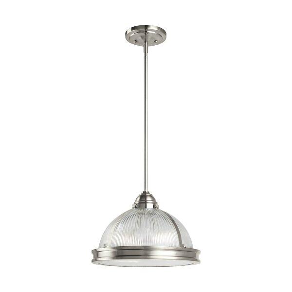 Granville 2-Light Single Dome Pendant & Reviews | AllMode