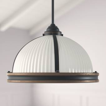 Birch Lane™ Beckett 1 - Light Single Dome Pendant & Reviews | Wayfa