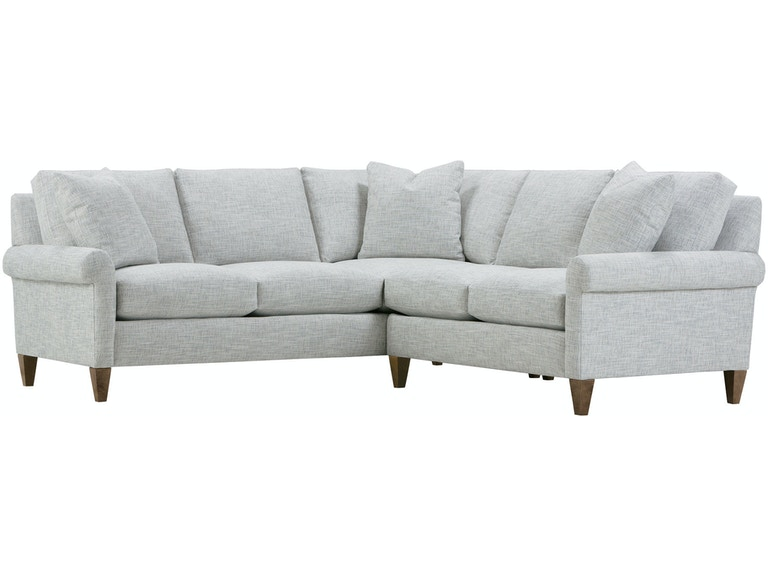 Rowe Living Room Landry Sectional P850-SECT - Wenz Home Furniture .