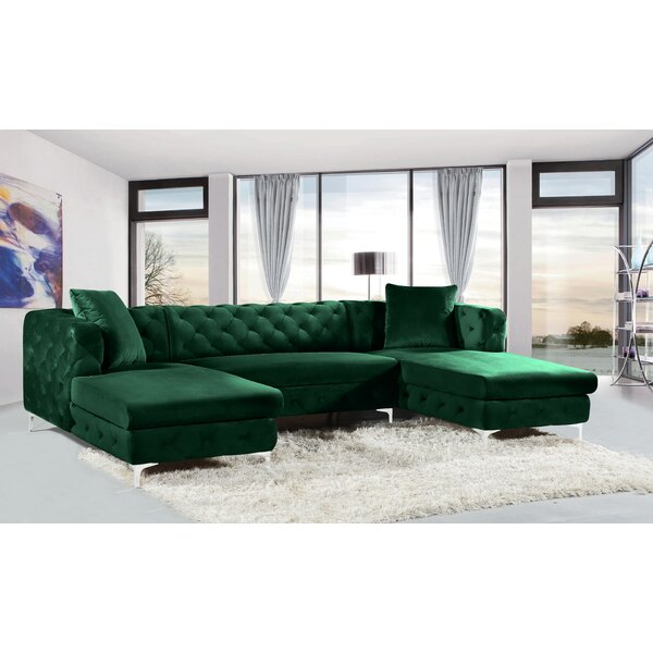 Mint Green Sectional | Wayfa