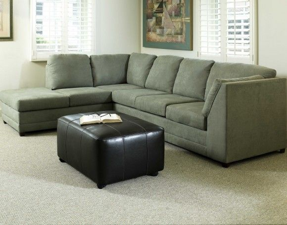rectangle green traditional plastic pillow Olive Green Sectional .