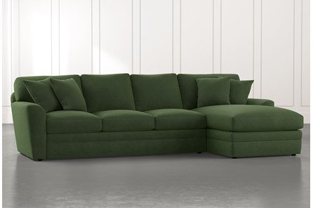 Green Sectionals & Sectional Sofas | Living Spac