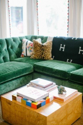 Green Sectional Sofa With Chaise - Ideas on Fot